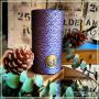 Boîte Seigaiha bleue et or 80 grammes