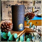Boîte Mame-shibori noire et or 80 grammes
