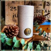 Boîte Mame-shibori blanche et or 80 grammes