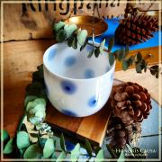 Bol à thé Ningyo opaline blanche