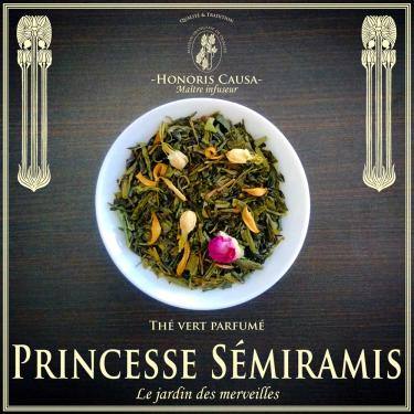 Princesse Sémiramis, thé vert