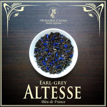 Altesse Earl-grey thé noir bio