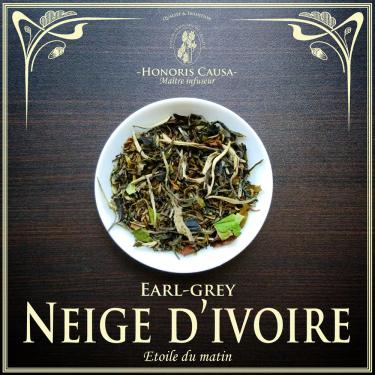 Neige d'ivoire, thé blanc bio