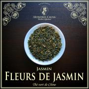 Fleurs de jasmin, thé vert bio