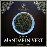 Mandarin vert, thé vert jasmin