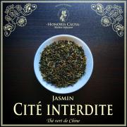 Cité interdite, thé vert bio jasmin