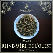 Reine-mère de l'ouest, thé vert jasmin