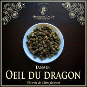 L'œil du dragon, perles de thé vert bio