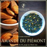 Amande du Piémont, thé noir