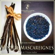 Vanille Mascareignes, thé noir bio