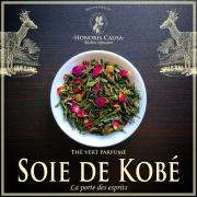 Soie de Kobé thé vert