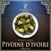 Pivoine d'ivoire, thé blanc