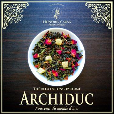 Archiduc, thé bleu oolong