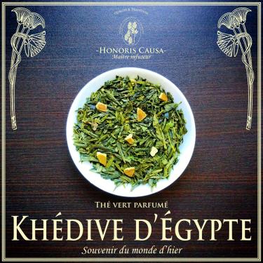 Khédive d'égypte, thé vert bio