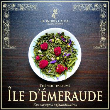 Île d'émeraude, thé vert