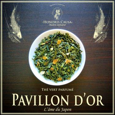 Pavillon d'or, thé vert bio