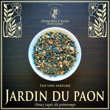 Le jardin du paon,  thé vert bio