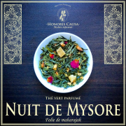 Nuit de Mysore, thé vert