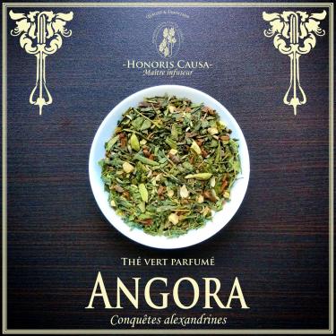 Angora thé vert bio