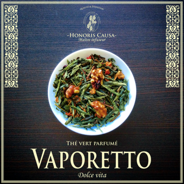 Vaporetto, thé vert bio