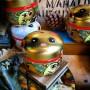 Boîte Maneki-neko or, 80 gr