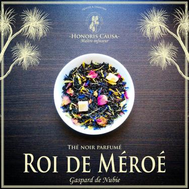 Roi de Méroé, thé noir