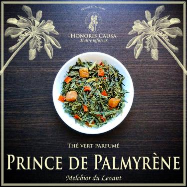 Prince de Palmyrène, thé vert