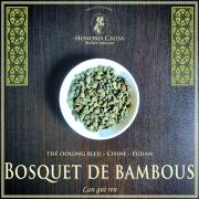 Bosquet de bambous thé bleu oolong