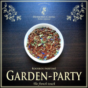Garden-party, rooibos bio parfumé