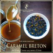 Caramel breton, thé noir biologique