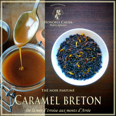 Caramel breton thé noir biologique