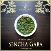Sencha Gaba, thé vert Japon bio