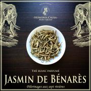 Jasmin de Bénarès, thé blanc biologique