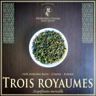 Thé des trois royaumes thé bleu oolong
