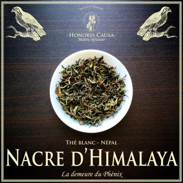 Népal, Nacre d'Himalaya thé blanc bio