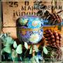 Boîte jardin de l'Est, 50 gr bleu myosotis