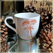 Tasse Honoris Causa vermeil, 0.25l porcelaine kaolin