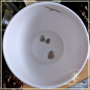 Tasse Honoris Causa platine, 0.25l Porcelaine tendre