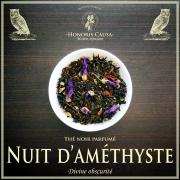 Nuit d'améthyste, thé noir