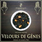 Velours de Gênes, thé noir