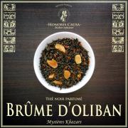 Brume d'oliban thé noir bio