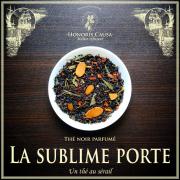 La sublime porte, thé noir