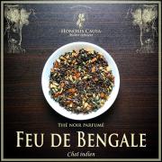 Feu de Bengale thé noir Chaï bio